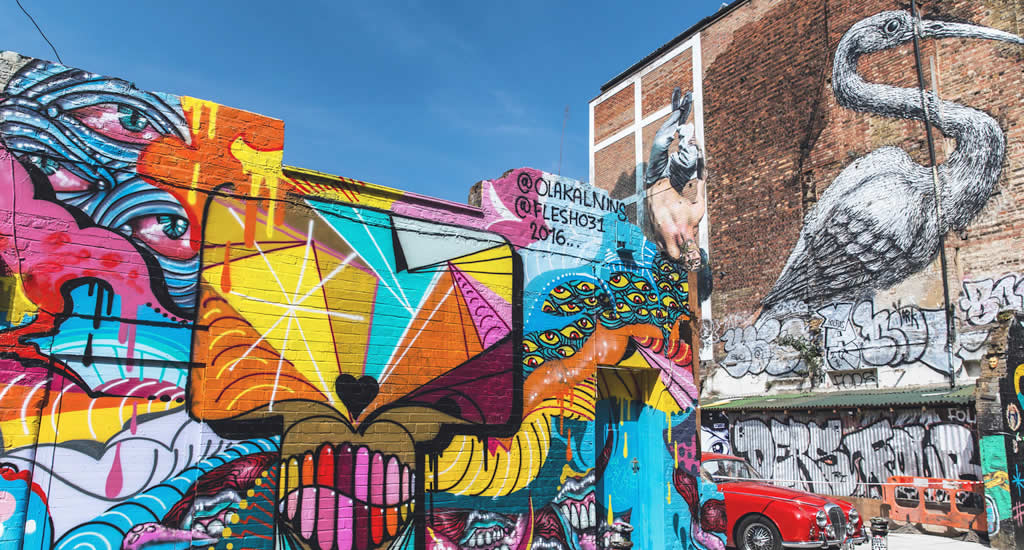 Budgettips Londen: ontdek de mooiste street art (foto met dank aan Visit London) | Mooistestedentrips.nl