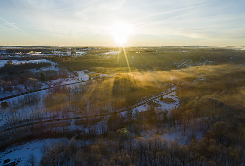 morning goodmorning cold frozen arctic chilly snow flight flying drone sunrise dawn white snowy ice icy home skaneateles life nature landscape peaceful quiet calm dji 2020