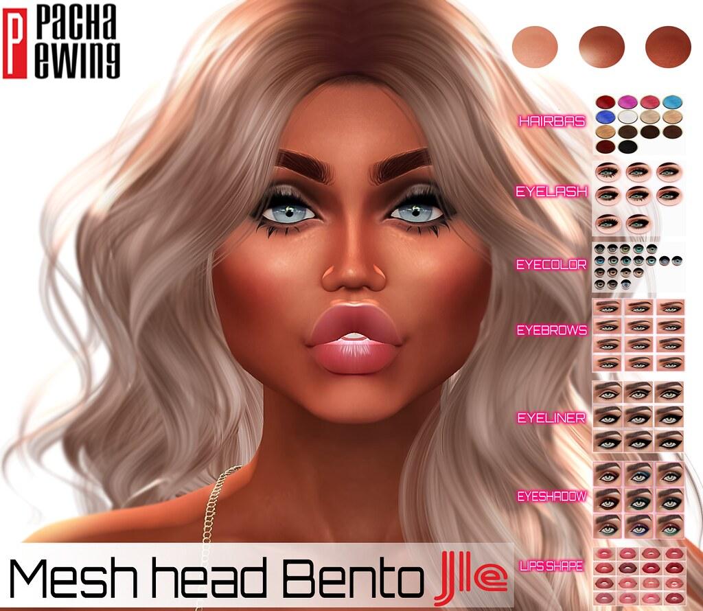 PACHA Ewing_MESH HEAD_Bento_ Jle_15-Tan_E