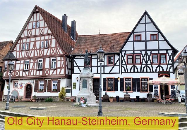 Old City in Hanau-Steinheim, Germany