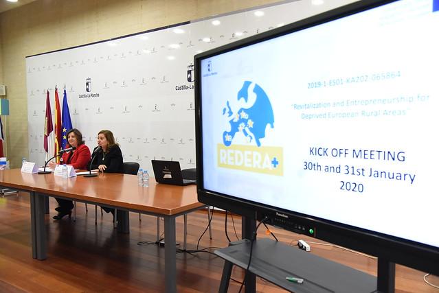 Inauguración del proyecto 'Redera+: Revitalización y Emprendimiento en Zonas Rurales