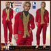 ALB GABRIEL suit stawberry red