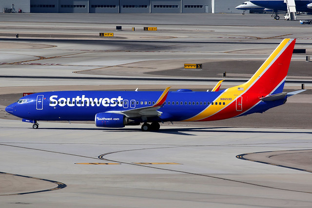 Southwest Airlines | Boeing 737-800 | N8659D | Las Vegas McCarran