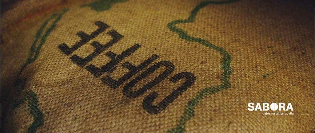 Saco de  Arpillera para gran de café