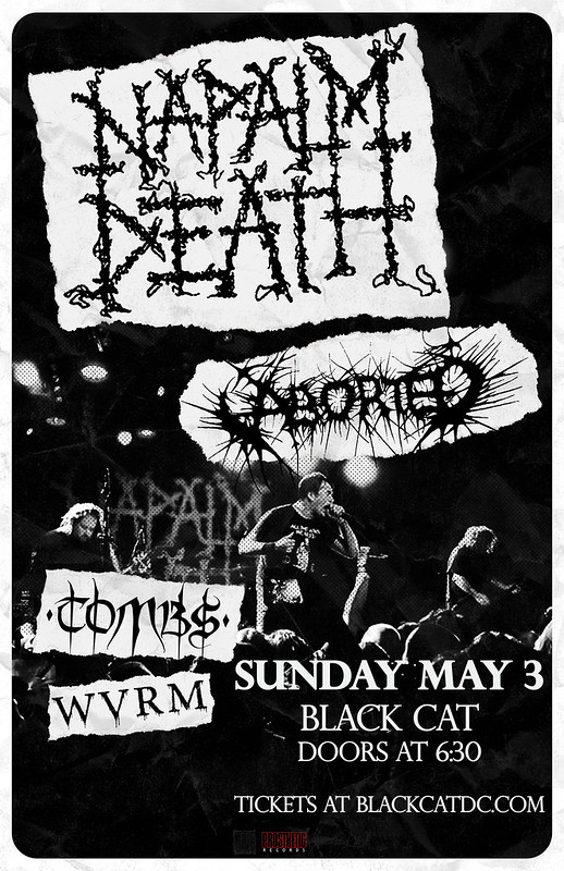 Napalm Death at the Black Cat