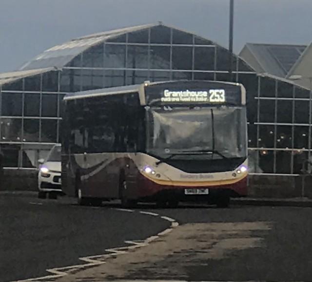 Borders Buses Alexander Dennis Enviro 200 MMC SN69ZNC 11913