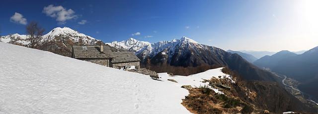 Alpe Costa, Valle Maggia. Canton Ticino, Svizzera