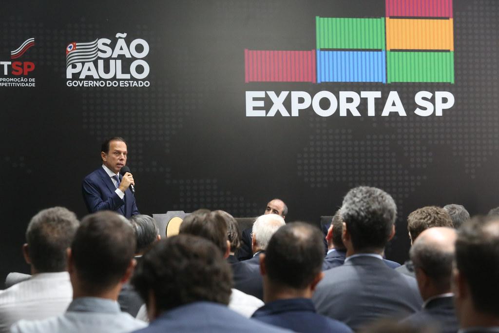 Lançamento do Programa Exporta SP