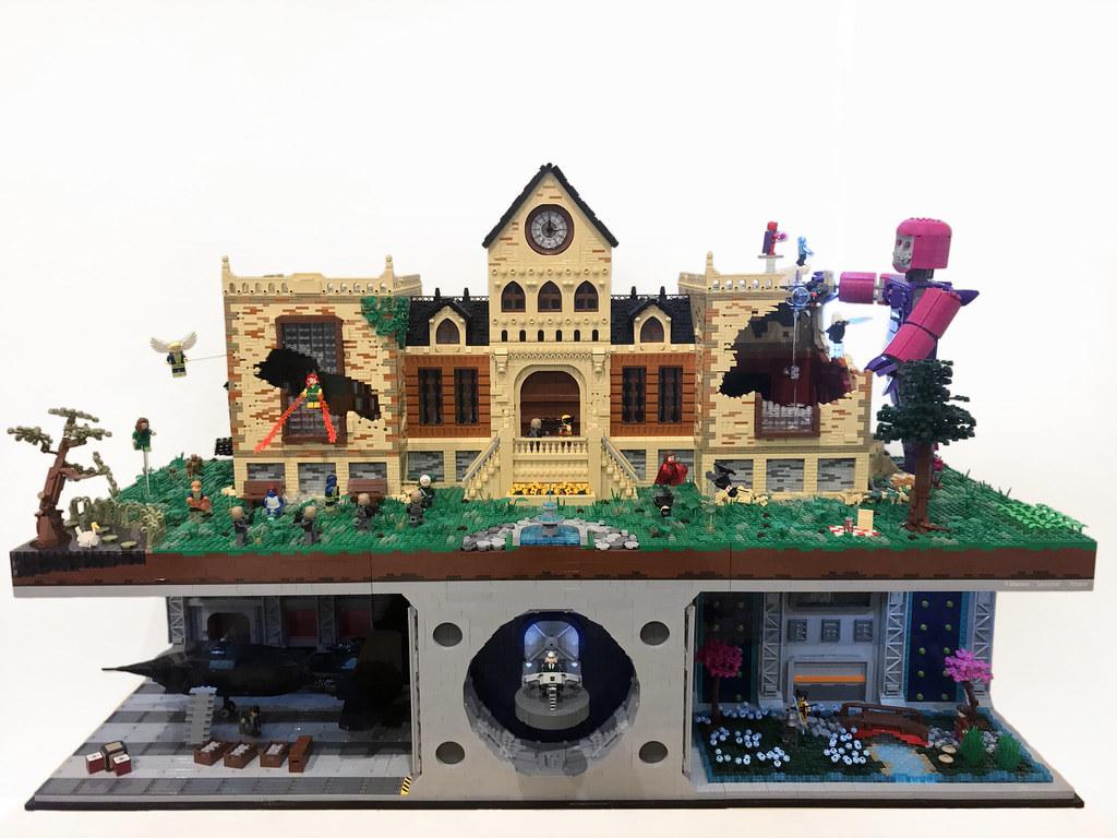 X-Mansion: Sentinel Attack