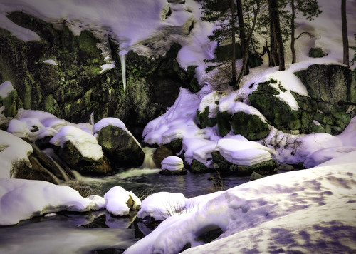 leefilter hdr sirivisionworks yuba waterfall ice snow outdoors nikonz7 stevesiri winter river cold