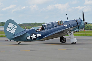Curtiss SB2C-5 Helldiver '32' (N92879) | by Hawkeye UK