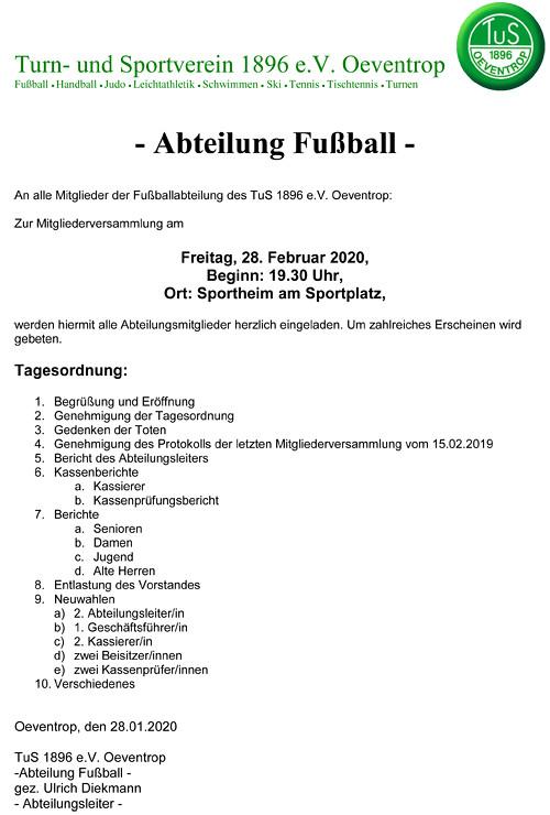 Einladung Abteilungsversammlung 28-02-2020-1