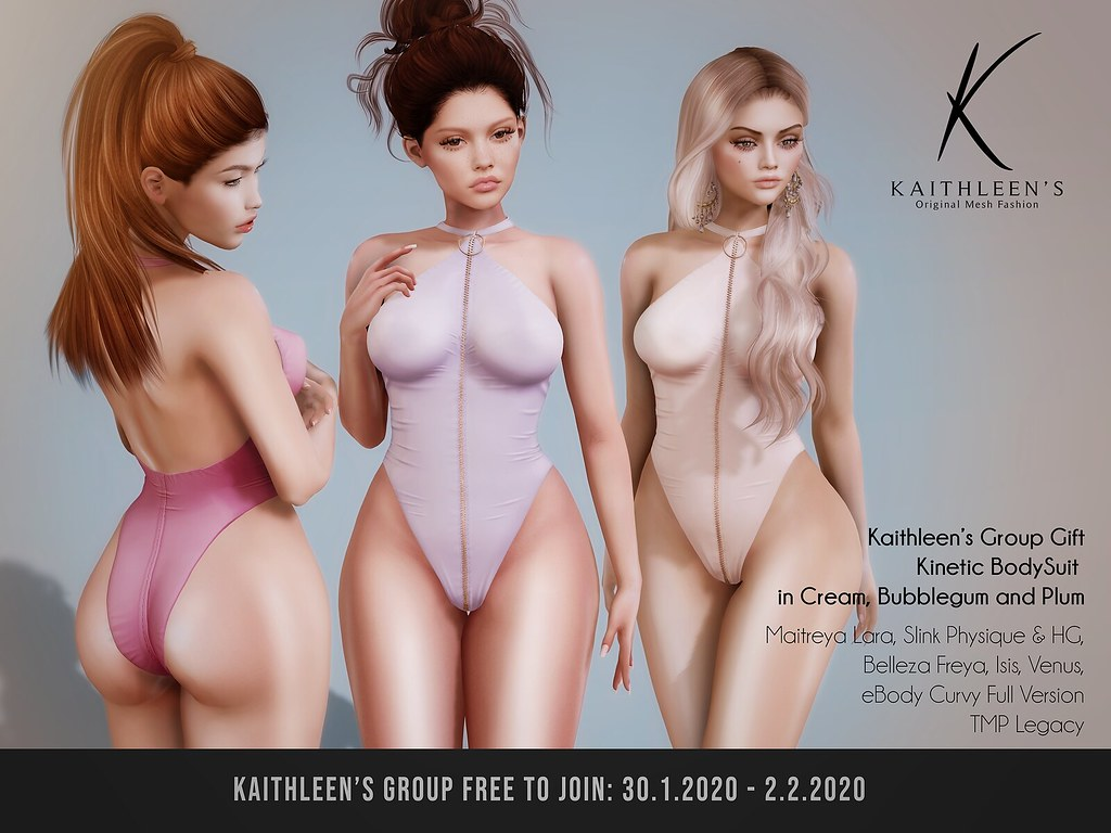 Kaithleen's Group Gift Kinetic BodySuit booth