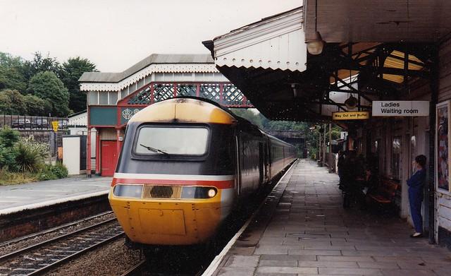 A down HST running into St Austell