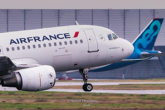 F-GKXG AIR FRANCE AIRBUS A320-200 MSN 1894