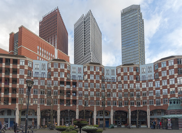 Architecture in Den Haag, The Hague, The Netherlands