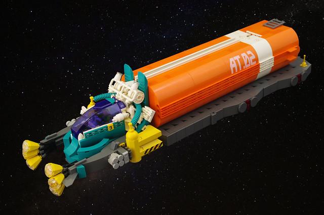 Leucocargo (space tanker) 01