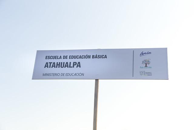 Escuela de educación básica Atahualpa
