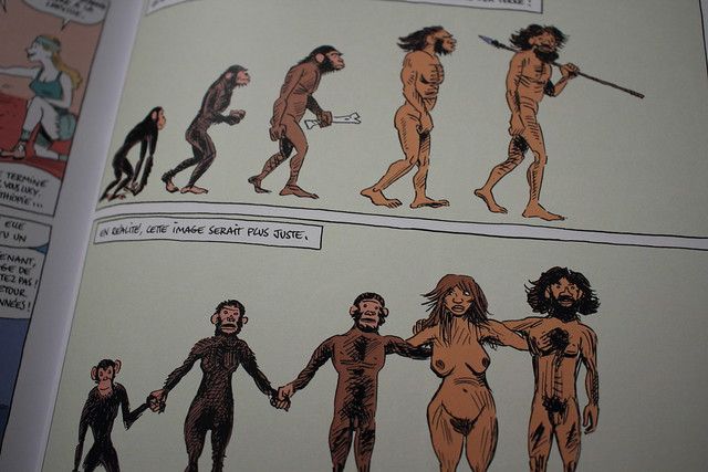 Sapiens, de Yuval Noah Harari, par David Vandermeulen et Daniel Casanave