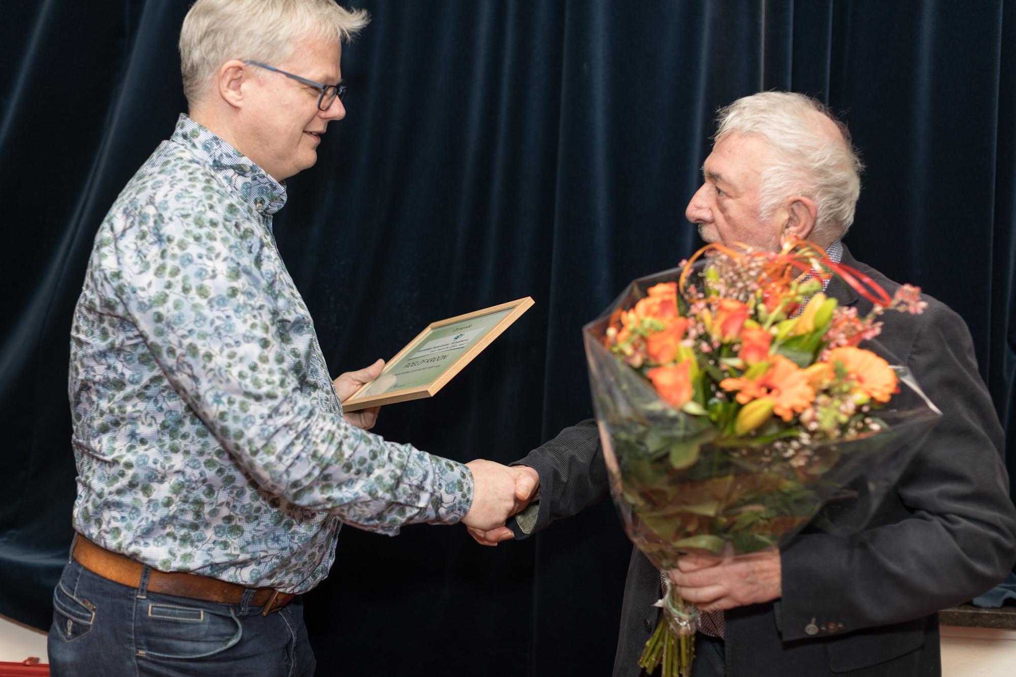 Roelof Kroon - Vrijwilliger van het jaar