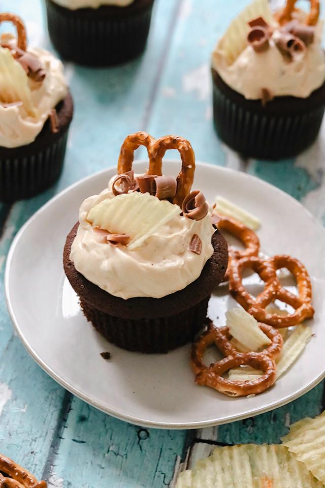 Superbowl Cupcakes
