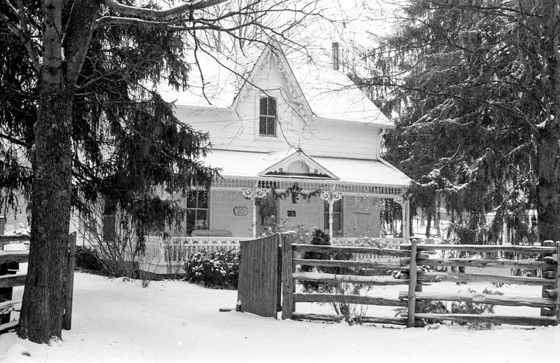 Belfountain Gingerbread House_