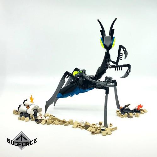 BUGFORCE: Marksman Mantis