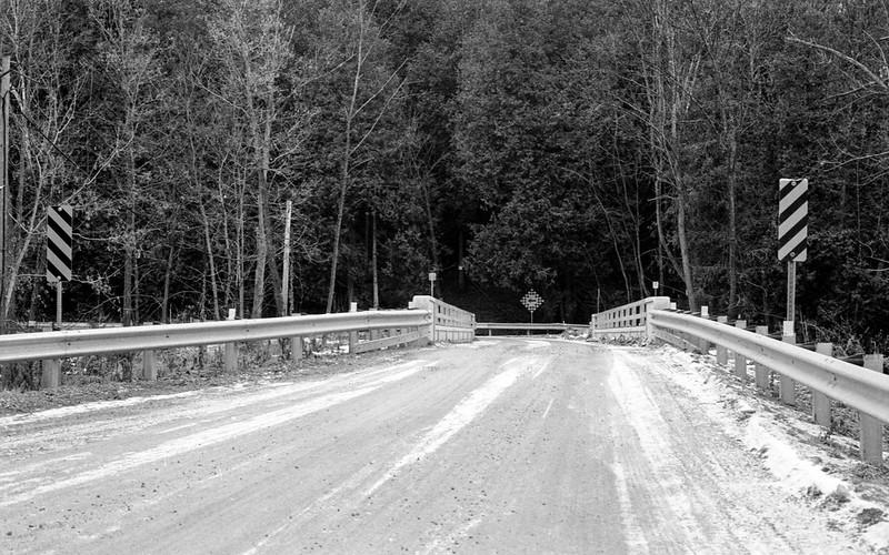 MacLaren Sideroad Bridge Jan 2020