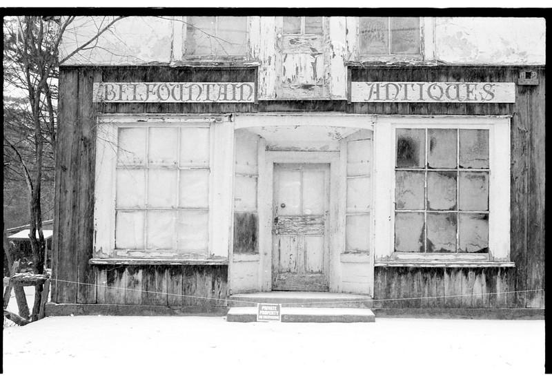 Belfountain Antiques No Trespassing Two