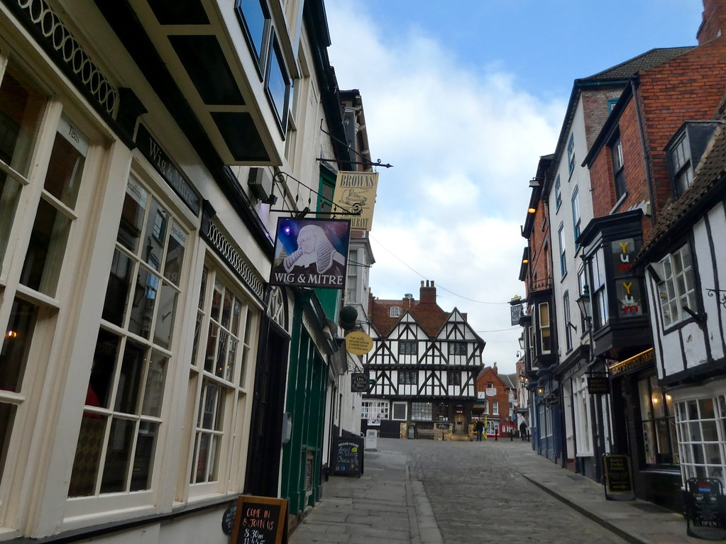 The Wig and Mitre, Steep Hill, Lincoln
