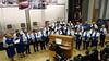 Der Chor der Banater Schwaben singt Lieder zur Gedenkveranstaltung