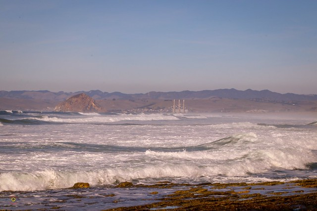 Looking @morrobayca @visitcalifornia from earlier this month   #teamcanon #smugmug #mybeach #myhome #nature #landscape #seascapes #highwayone #centralcoast #morrobay #morrorock #soslocal #slocounty #sanluisobispo #naturephotography #landscapephotography #