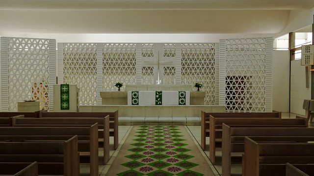 Bagsværd Church - 1973-1976 - Interior