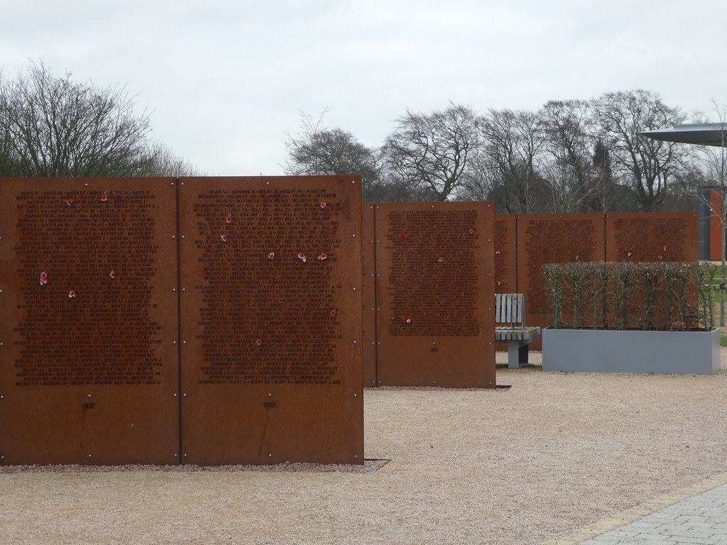 Walls of Names, International Bomber Command Centre, Lincoln