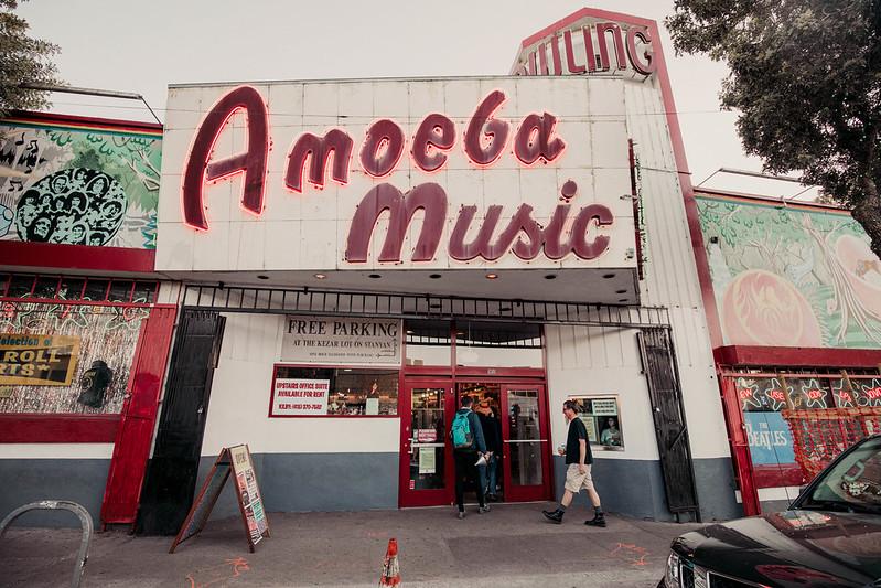 Amoeba Music San Francisco California