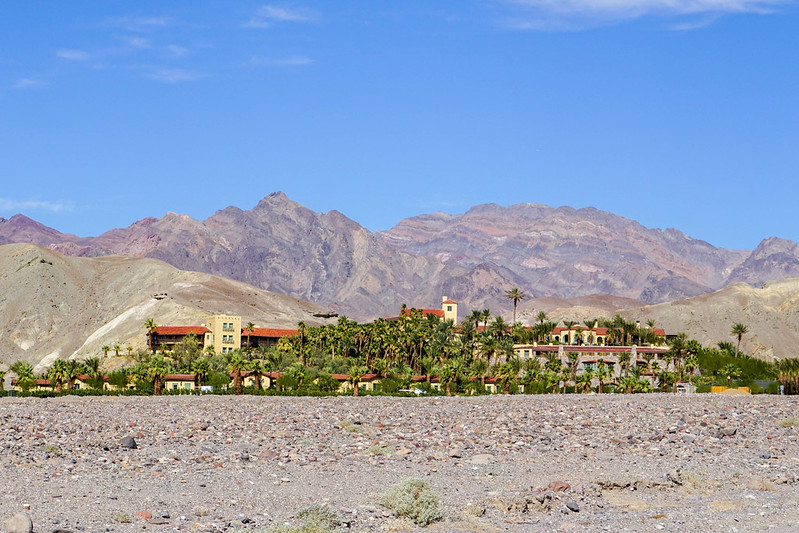The Inn at the Oasis at Death Valley, July 2019