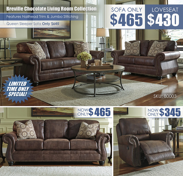 Breville Chocolate Your Choice Sofa Loveseat Sleeper Recliner Layout_80003_NEW