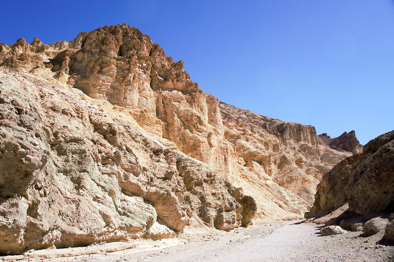 Golden Canyon in Death Valley National Park, California, July 2019