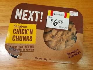 Next! Chick'n Chunks
