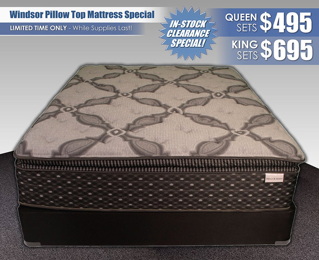Windsor Pillow Top Mattress Special_InStockPricing