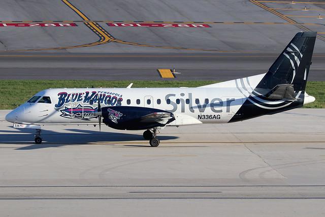 N336AG | Saab 340B | Silver Airways