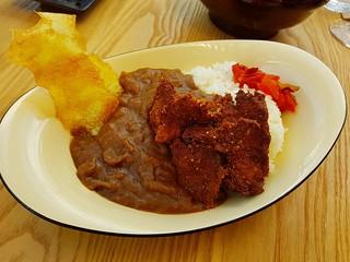 Japanese Curry Rice with Karaage at Izakaya Midori