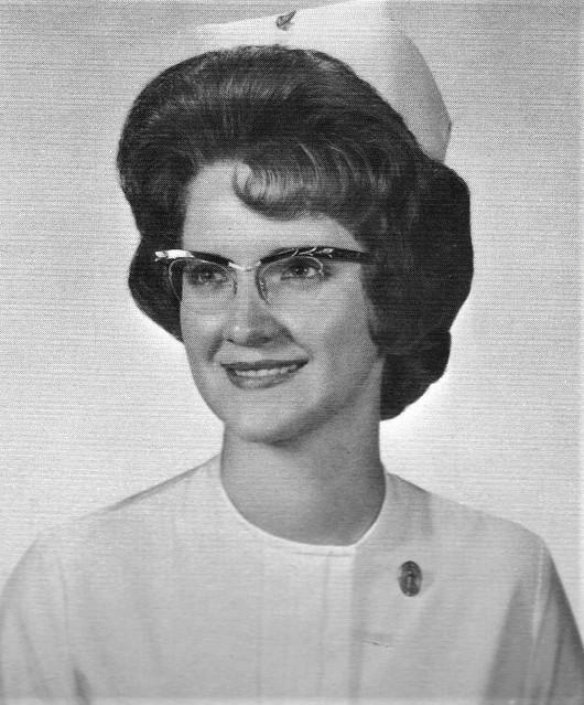 Providence College of Great Falls Nurse Graduate in 1964 Montana