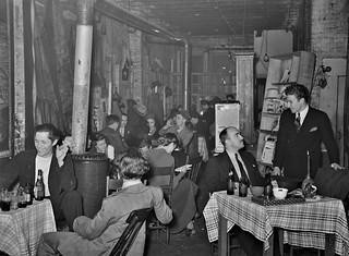 Low-Rent Dive: Scene in a nightclub along the riverfront. Saint Louis, Missouri, January 1939.