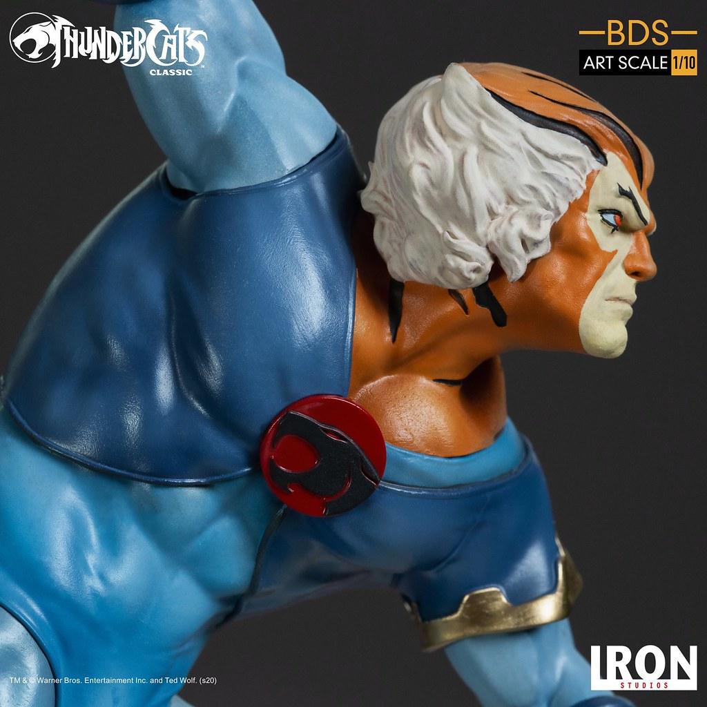 會隱形的虎貓! Iron Studios Battle Diorama 系列《霹靂貓》虎貓 Tygra 1/10 比例全身雕像