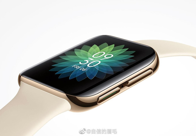 Rekaan Jam Tangan Pintar Oppo Tertiris Dan Amat Mirip Apple Watch