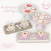 {what next} Heart Cookies & Latte Tray for FLF