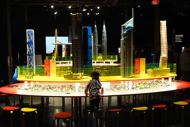 Towers of Tomorrow with Lego Bricks | Science World | False Creek, Vancouver