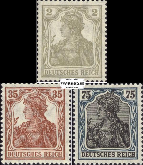 Známky Nemecká ríša 1918 Germania
