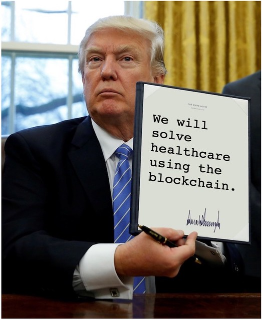 Trump_healthcareblockchain